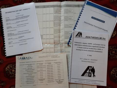 adatok, táblázatok, információk